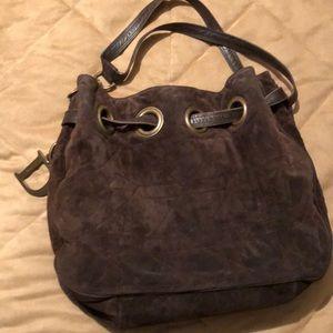 Christian Dior suede handbag